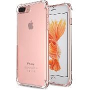 2 Capa Fusion Shell Anti-impacto Iphone 8 Plus Transparente