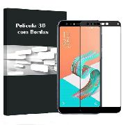 Kit 2 Películas Vidro Bordas 3d Zenfone 5 Selfie Zc600kl - Preta