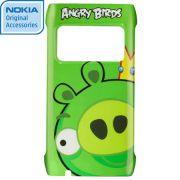 Capa Nokia CC-5000 Angry Birds Pig King para Nokia N8 - Verde