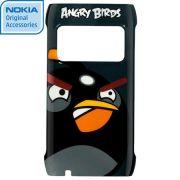 Capa Angry Birds Nokia CC-5000 para Nokia N8 - Cor Preta