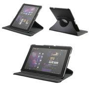 Capa em couro para Samsung Galaxy Tab 10.1 P7500 / P7510 com suporte | 360º Rotating Stand Case