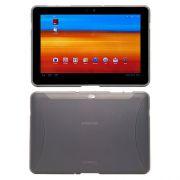 Capa TPU Flexível Premium para Samsung Galaxy Tab 10.1 P7500 / P7510  - Cor Grafite