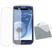 Kit com 2 Películas transparente lisa protetor de tela para Samsung Galaxy S3 SIIl i9300