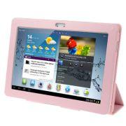 Capa Smart Cover dobravél Samsung Galaxy Tab 2 10.1 P5110 / P5100 - Cor Rosa