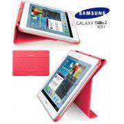 Capa Dobrável c/ Suporte para Samsung Galaxy Tab 2 10.1 P5110 /P5100 - Samsung - Cor Rosa