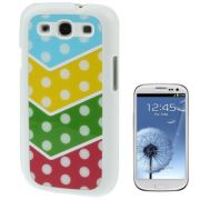 Capa Personalizada cores Mistas para Samsung Galaxy S3 S III i9300
