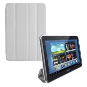 Capa Smart Cover Dobrável para Samsung Galaxy Note 10.1 N8000 / N8100 - Cor Branca