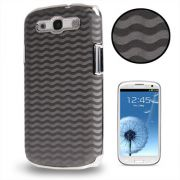 Capa Personalizada Onda para Samsung Galaxy S3 S III i9300 - Cinza