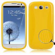 Capa Personalizada para Samsung Galaxy S3 S III i9300 / Cor Amarelo