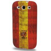 Capa Retro Bandeira Espanha para Samsung Galaxy S3 S III i9300