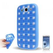 Capa Personalizada Traçada para Samsung Galaxy S3 S III i9300 - Azul