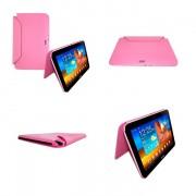 Capa Rígida Book estojo para Samsung Galaxy Note 10.1 N8000 / N8100 - Cor Rosa
