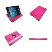 Capa em couro com suporte 360º para Apple Ipad Mini - Cor Rosa Pink