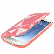 Capa Personalizada flip para Samsung Galaxy S III GT-I9300 - Rosa