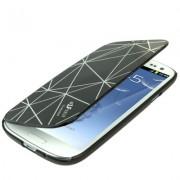 Capa Personalizada flip para Samsung Galaxy S III GT-I9300 - Preta