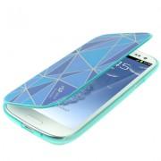 Capa Personalizada flip para Samsung Galaxy S III GT-I9300 - Azul