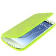 Capa Personalizada flip para Samsung Galaxy S III GT-I9300 - Verde