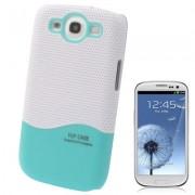 Capa Protetora para Samsung Galaxy S3 S III i9300 - Branco/Verde