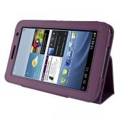 Capa Smart Cover dobravél para Samsung Galaxy Tab 2 7.0 P3100 / P3110 - Cor Roxa
