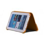 Capa Book estojo para Samsung Galaxy Tab 2 7.0 P3100 / P3110 - Cor Laranja