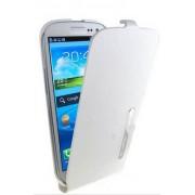 Capa Flip Vertical para Galaxy SIII I9300 - Cor Branca / Original Samsung