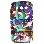 Capa Personalizada Estátua da Liberdade e Bandeira Americana para Samsung Galaxy Grand Duos I9082