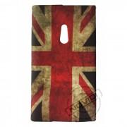 Capa Personalizada Bandeira Envelhecida Inglaterra para Nokia Lumia 800