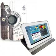 Capa para tablet personalizada giratoria London Samsung Galaxy Tab 2 7.0 P3100 / P3110
