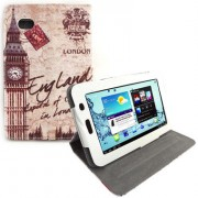 Capa para tablet personalizada giratoria Torre London Samsung Galaxy Tab 2 7.0 P3100 / P3110