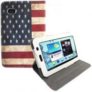 Capa para tablet personalizada USA giratoriaSamsung Galaxy Tab 2 7.0 P3100 / P3110