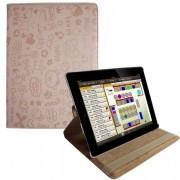 Capa Personalizada giratória para iPad 2/iPad 3 - Cor Salmão