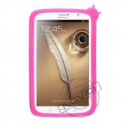 Capa Silicone para Samsung Galaxy Note 8.0 N5100/N5110 - Cor Rosa Pink