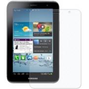 Kit com 2 Películas transparente lisa protetor de tela para Samsung Galaxy Tab 2 7.0 P3100/P3110