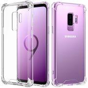 Capa Fusion Shell Anti-Impacto para Samsung Galaxy S9 Plus - Cor transparente