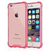 Capa Fusion Shell Anti-Impacto Premium para iPhone 7 4.7- Rosa Transluscida