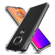 Capa Fusion Shell + Película de vidro 3D Motorola Moto G7 - Preta