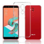Capa TPU + Película Vidro Bordas 3d Zenfone 5 Selfie ZC600KL - Preta