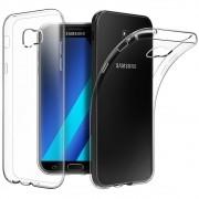 Capa TPU Transparente + Película de Silicone/Gel para Samsung Galaxy A5 2017
