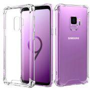 Kit Case Anti impacto + Película Vidro Cola Líquida Uv Galaxy S9