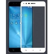 Película de vidro Premium com bordas 3D para Asus Zenfone 3 Zoom Ze553KL - Bordas Branca