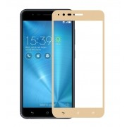 Película de vidro Premium com bordas 3D para Asus Zenfone 3 Zoom Ze553KL - Bordas Gold