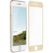 Película de vidro Premium com bordas 3D para iPhone 6/6s 4.7 - Borda Dourada