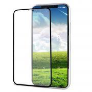 Película Iphone XS Vidro 3D 9h Apple Top - Preta