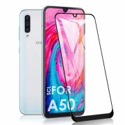 Película vidro 3D Galaxy A50 - Preta