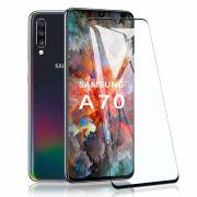 Película vidro 3D Galaxy A70 - Preta