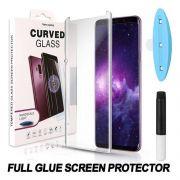 Película Vidro Cola Líquida Uv Galaxy S8