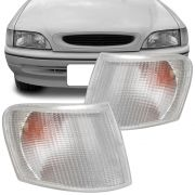 Lanterna Dianteira Pisca Ford Escort Verona 1993 a 1996 Cristal Lado Esquerdo 92119