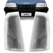 Lanterna Dianteira Pisca Gm Kadett Ipanema 1989 a 1998 Cristal Lado Esquerdo 4611ATL
