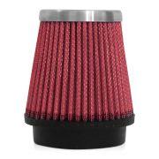Filtro de Ar Esportivo Rs Air Filter Cônico 62mm Vermelho