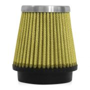 Filtro de Ar Esportivo Rs Air Filter Cônico 70mm Amarelo